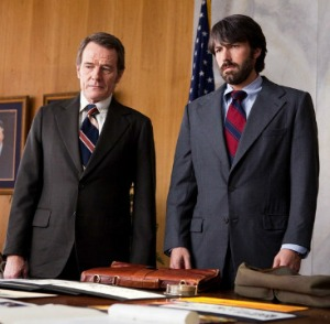 Bryan Cranston and Ben Affleck in Argo