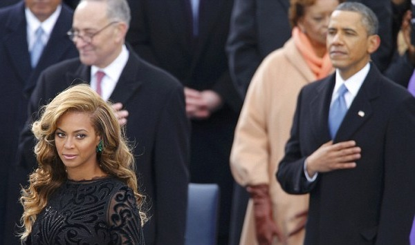 Beyonce Performs National Anthem at Inauguration 2013