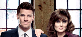 Bones&#039; Emily Deschanel and David Boreanaz
