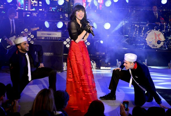 Carly Rae Jepsen, New Year's Eve 2013
