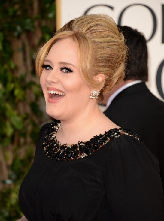 Adele at the Golden Globes 2013