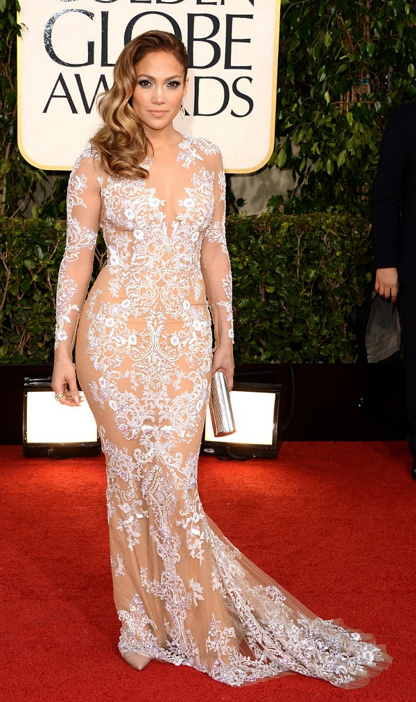 Jennifer Lopez at the 2013 Golden Globes