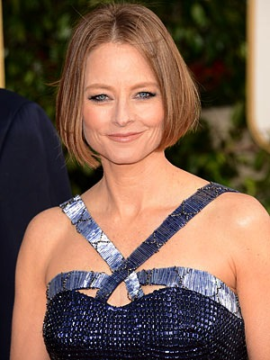 Jodie Foster at the 2013 Golden Globes