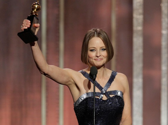 Jodie Foster Comes Out at Golden Globes 2013