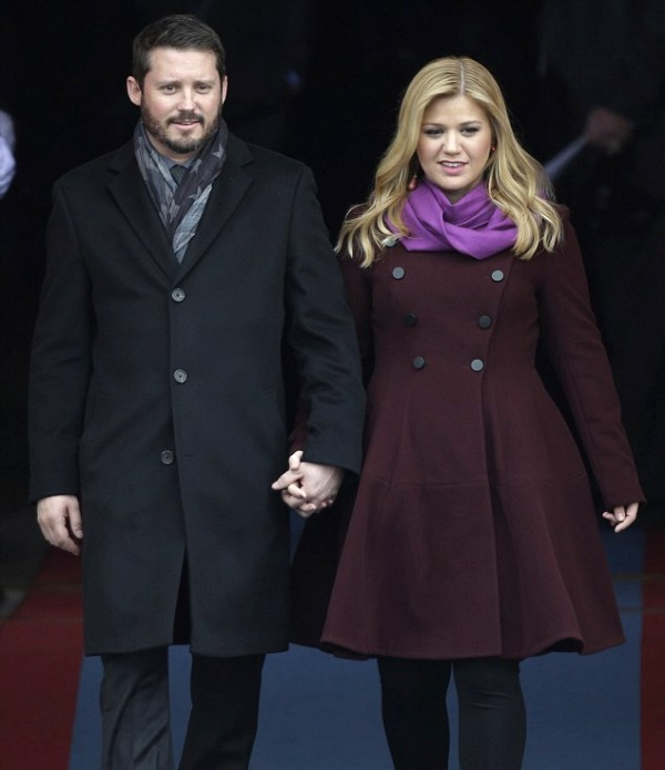 Presidential Inauguration 2013: Brandon Blackstock and Kelly Clarkson