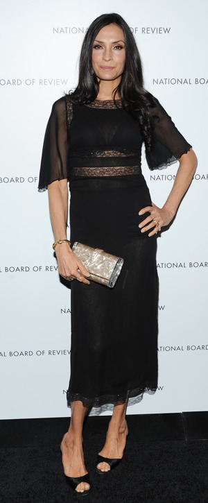 Famke Janssen, National Board of Review Gala