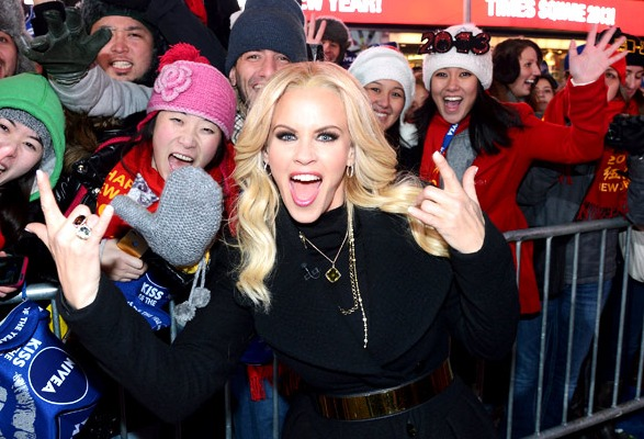 Jenny McCarthy, New Year's Eve 2013