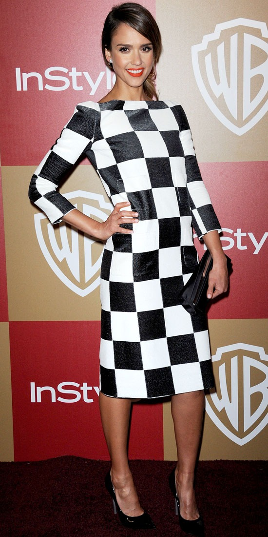 Jessica Alba at the Warner Bros. InStyle Globes After-Party