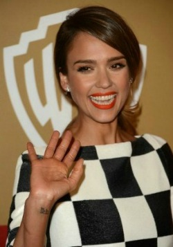 Jessica Alba at the Warner Bros./InStyle After-Globes Party