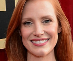 Jessica Chastain in Alexander McQueen at the 2013 SAG Awards