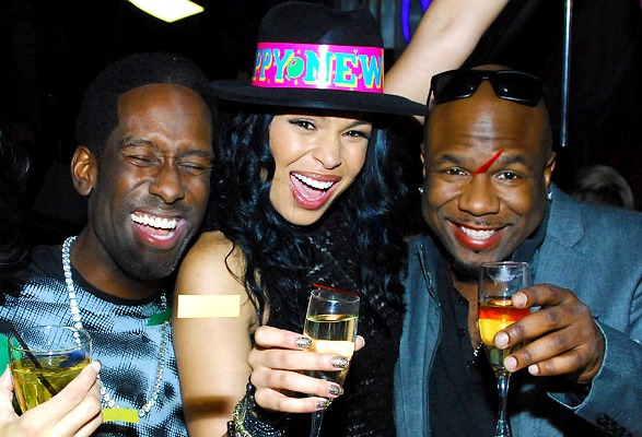 Jordin Sparks and Boyz II Men, New Year's Eve 2013