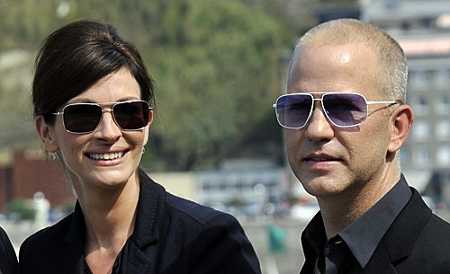 Julia Roberts and Ryan Murphy