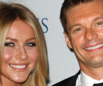 Julianne Hough and Ryan Seacrest Hit the Beach in St. Barts