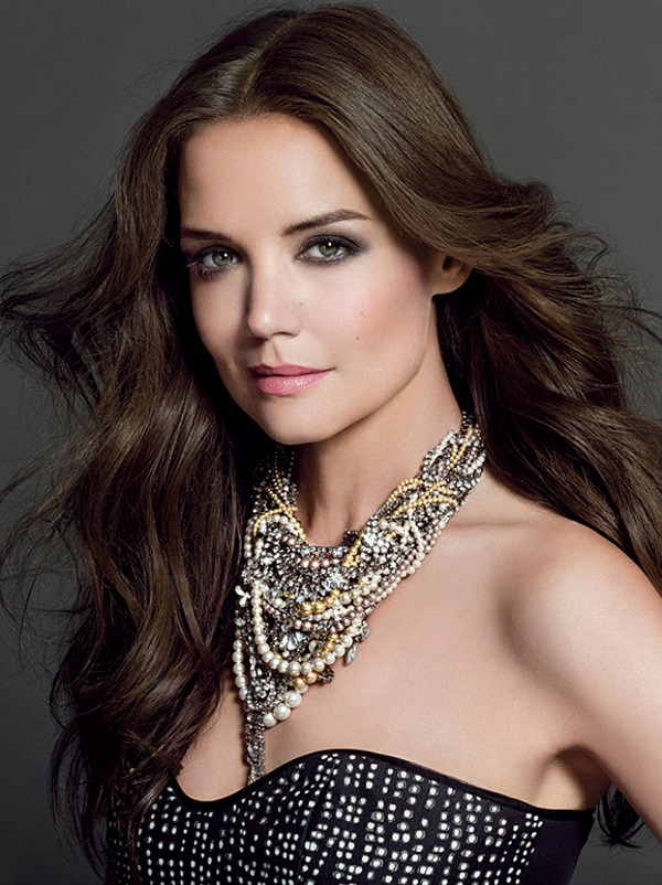 Katie Holmes in Bobbi Brown Cosmetics Ad