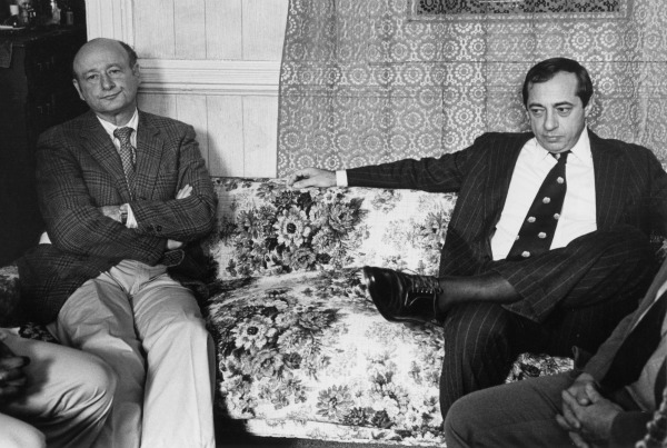 Ed Koch and Mario Cuomo, as seen in Koch documentary