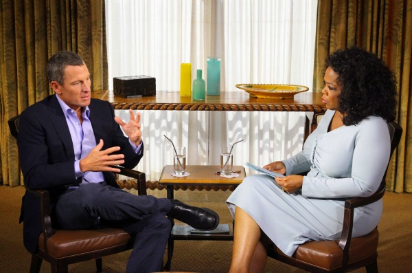 Oprah interviews Lance Armstrong