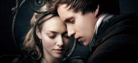 Amanda Seyfried and Eddie Redmayne in Les Miserables