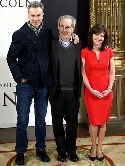 Lincoln Madrid Premiere: Daniel Day-Lewis, Steven Spielberg, Sally Field