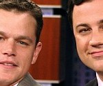 Arch Enemies Jimmy Kimmel and Matt Damon To Meet for Epic Throwdown