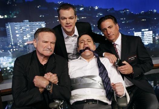 Matt Damon takes over Jimmy Kimmel