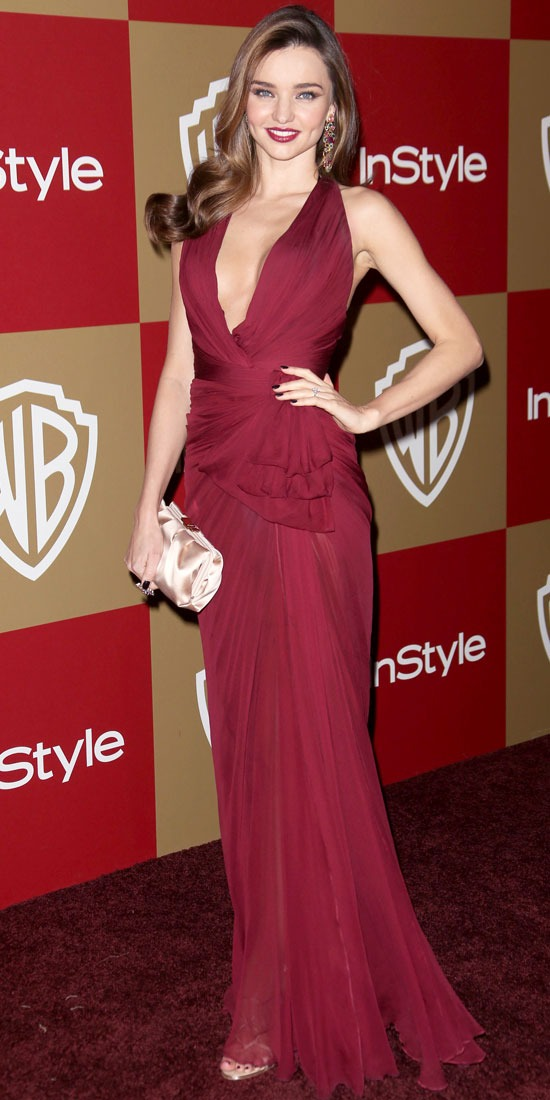 Miranda Kerr at the Warner Bros. InStyle Globes After-Party