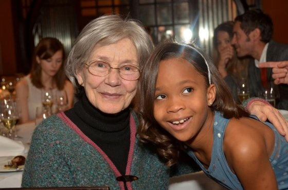 Emmanuelle Riva (&quot;Amour&quot;) and Quvenzhane Wallis (&quot;Beasts of the Southern Wild&quot;)