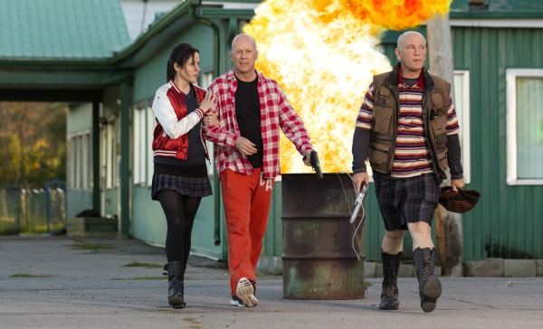 Red 2 starring Bruce Willis, Mary-Louise Parker