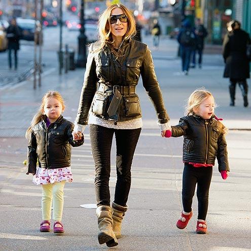 Sarah Jessica Parker and Kids