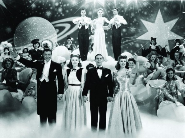 Eddie Cantor and friends in Thank Your Lucky Stars