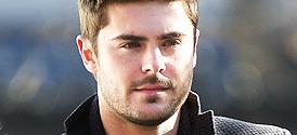 Zac Efron filming Are We Officially Dating?