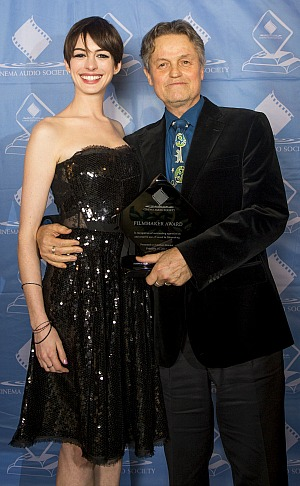 CAS Awards 2013: Anne Hathaway & Jonathan Demme