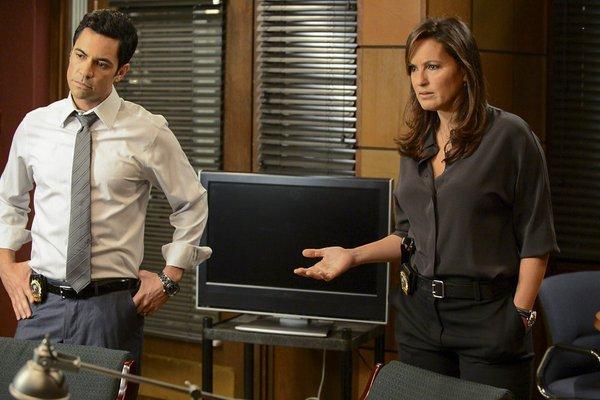Law and Order Danny Pino and Mariska Hargitay NBCUniversal Media LLC