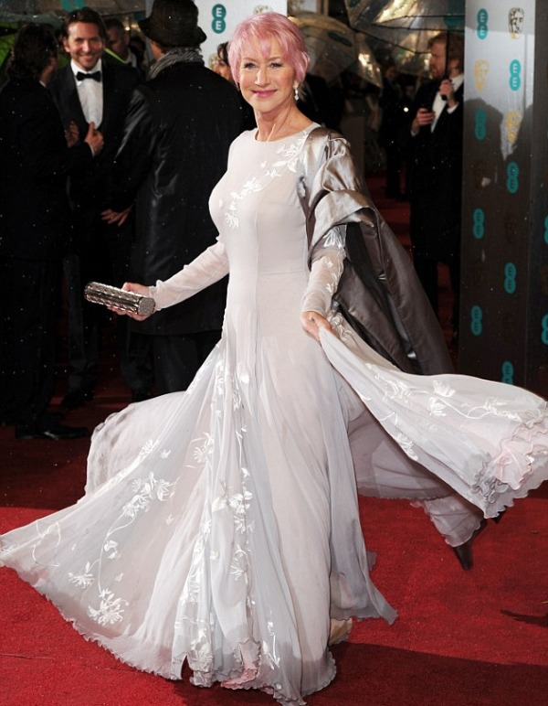 BAFTA Awards 2013: Helen Mirren's Pink Hair