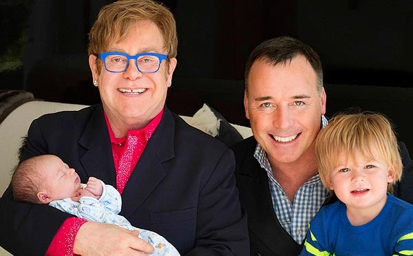 Elton John's new son Elijah