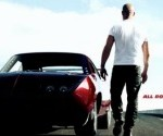 Fast &amp; Furious 6 Poster Features Back Side of Vin Diesel, Lots of Sky