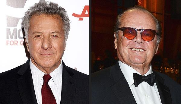 Dustin Hoffman and Jack Nicholson