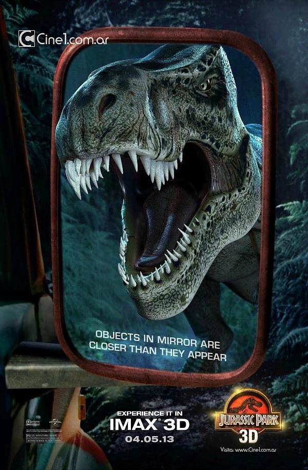 Jurassic Park 3D IMAX Poster