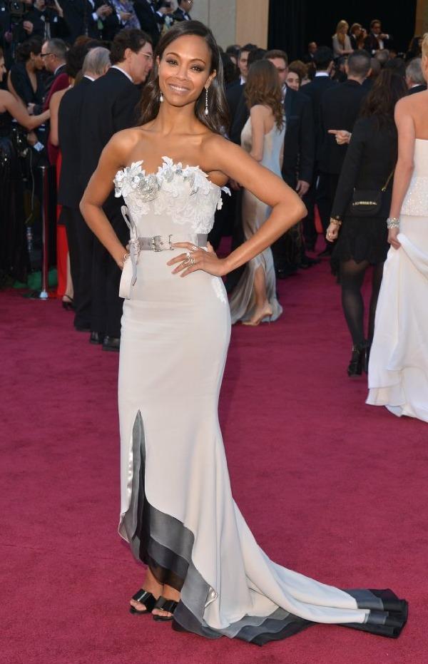 Oscars 2013: Zoe Saldana