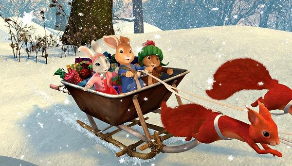 Peter Rabbit on Nickelodeon