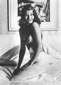 Rita Hayworth pin-up picture