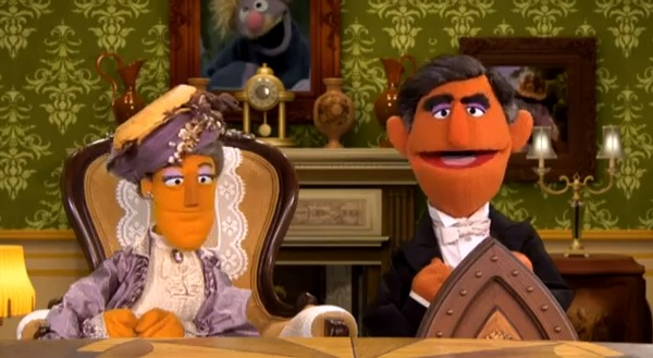 Video Sesame Street Spoofs Downton Abbey Reel Life With