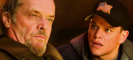 The Departed: Jack Nicholson and Matt Damon