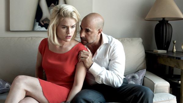 "Alice Eve and Stanley Tucci in Neil LaBute's ""Some Velvet Morning"""
