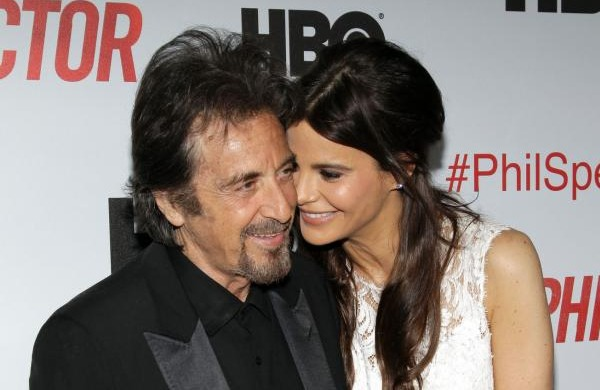 Phil Spector Premiere: Al Pacino and Lucila Sola