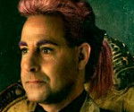 Catching Fire: Stanley Tucci as Caesar Flickerman in Capitol Couture Portrait