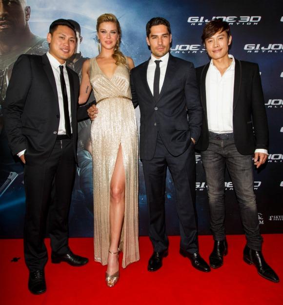 G.I. Joe: Retaliation Sydney Premiere