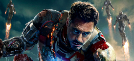 Iron Man 3 Poster with Robert Downey, Jr.