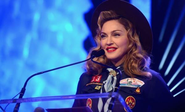GLAAD: Madonna Dons Boy Scout Uniform