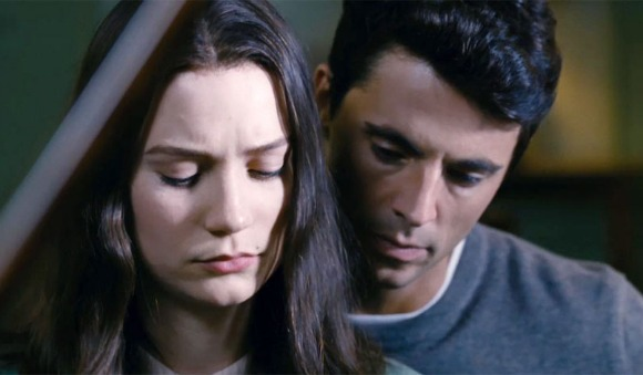 Mia Wasikowska and Matthew Goode in Stoker