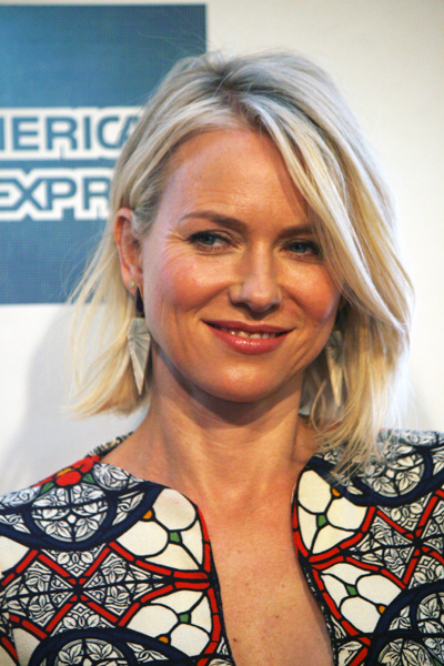 "Naomi Watts at the Tribeca Film Festival premiere of ""Sunlight Jr."" 